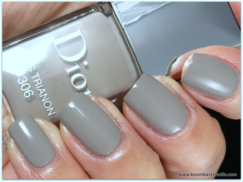 boombastic nails dior gris trianon 306 cherie bow spring 2013. Black Bedroom Furniture Sets. Home Design Ideas