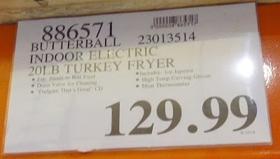 Deal for the  Butterball 23013514 Indoor Electric Turkey Fryer at Costco