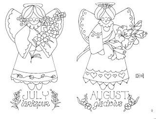Desenhos Para Pintar July