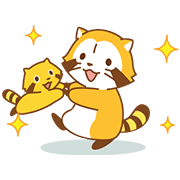 Happy☆RASCAL Animated Stickers