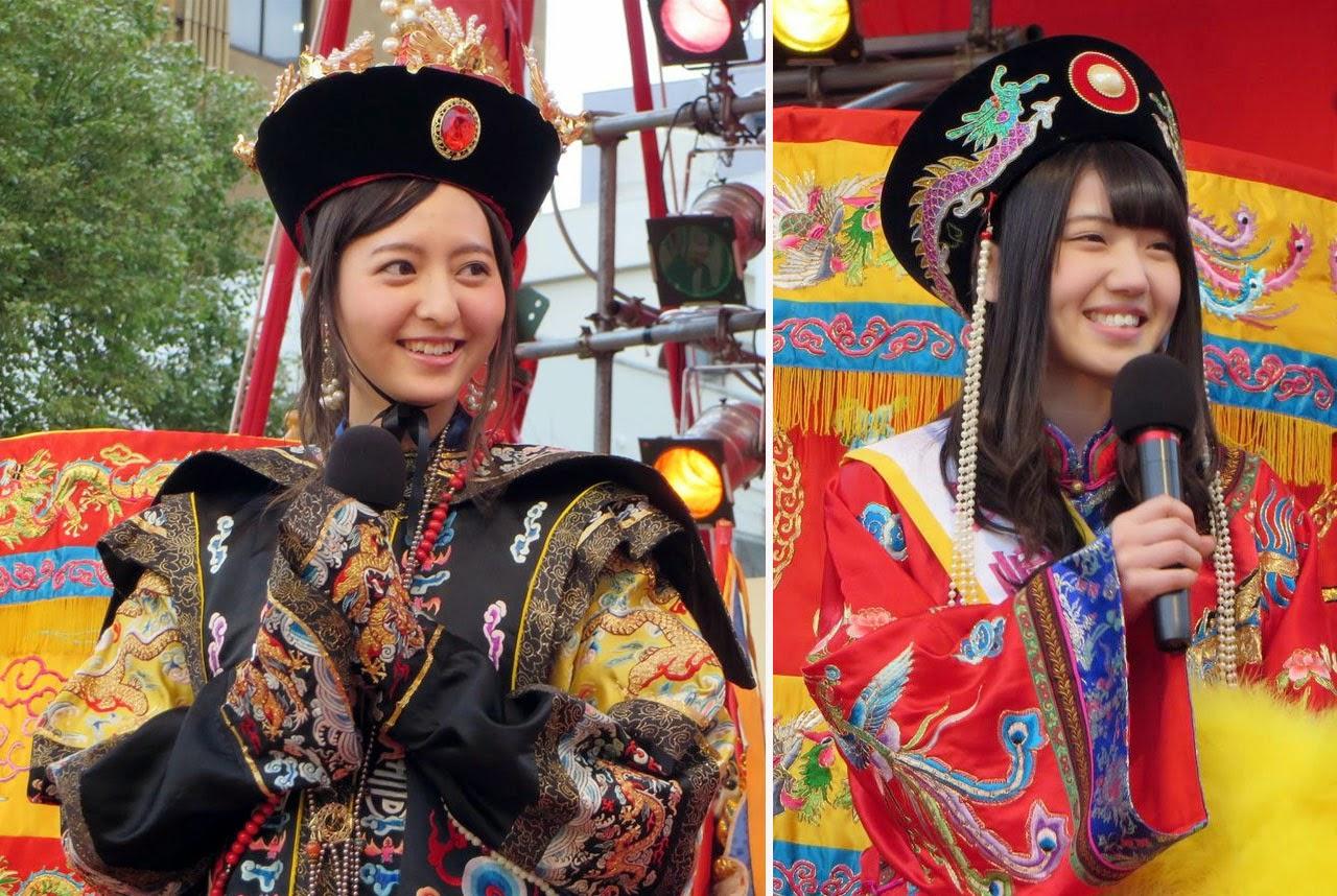 Moriyasu-Madoka-dan-Murayama-Yuiri-Bergabung-Parade-Festival-Nagasaki-sebagai-duta-besar