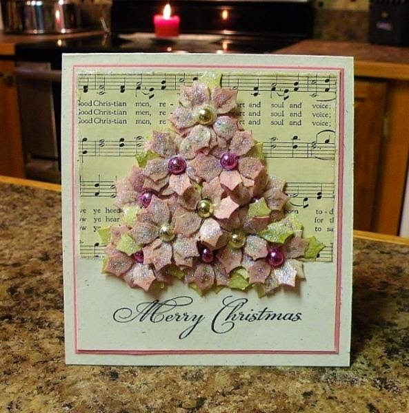 ODBD Christmas Mini Set, ODBD Custom Peaceful Poinsettias Dies, Card Designer Nancy Williams