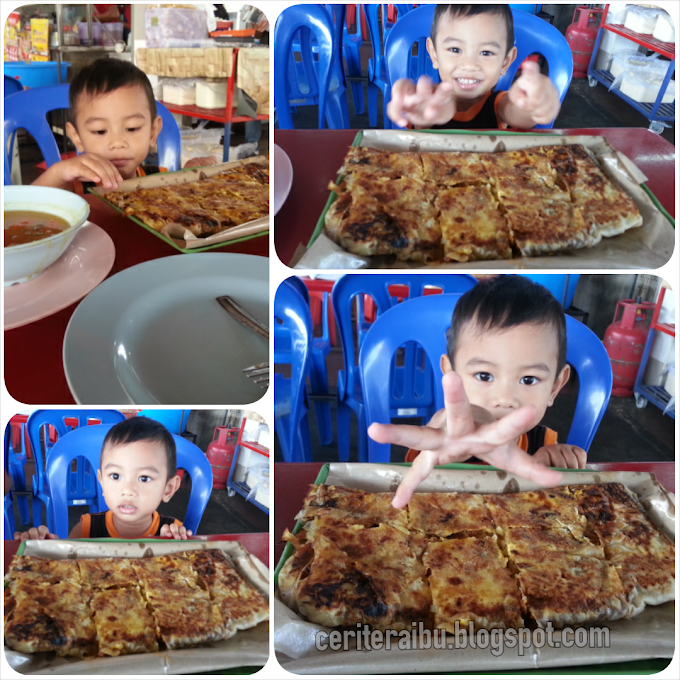 Murtabak Cheese dan ABC Coklat
