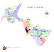 Mapa de COLOMBIA colombia