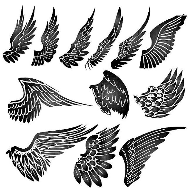 Aile D Ange Tatoo tattoos for men: angel tattoos-angel wings tattoo