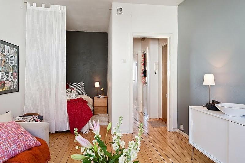 blog de decoração  Arquitrecos Cortinas dividindo ambientes