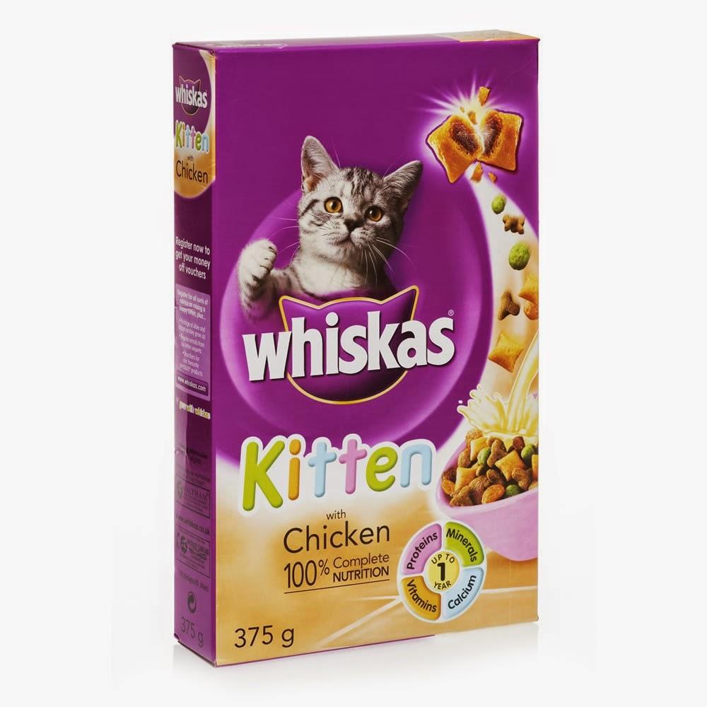 Ração pra gato whiskas filhote (kitten)