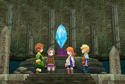 Los primeros juegos de Final Fantasy en NDS