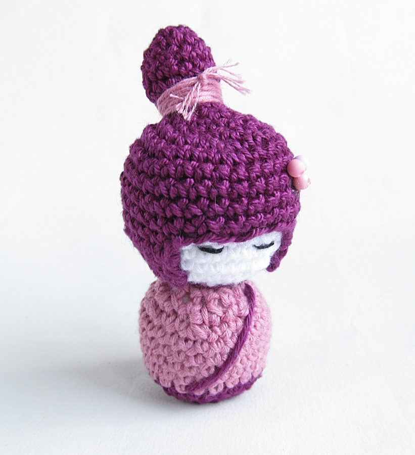 {Amigurumi Kokeshi Doll Pattern} - Little Things Blogged