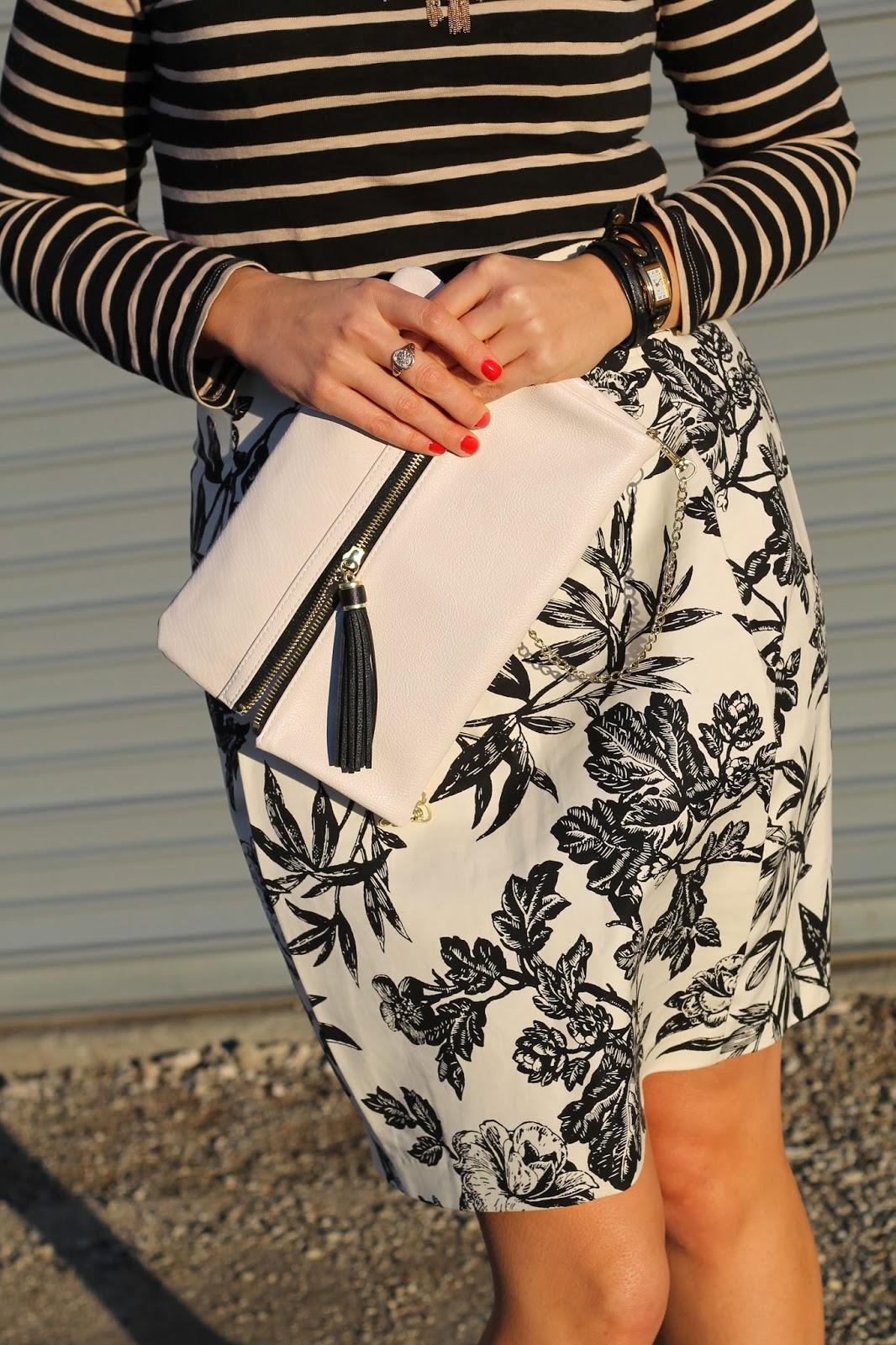floral, skirt