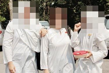 Pelajar Perempuan Bukan Melayu Berbaju Kurung Tidak Dibenarkan Masuk kelas