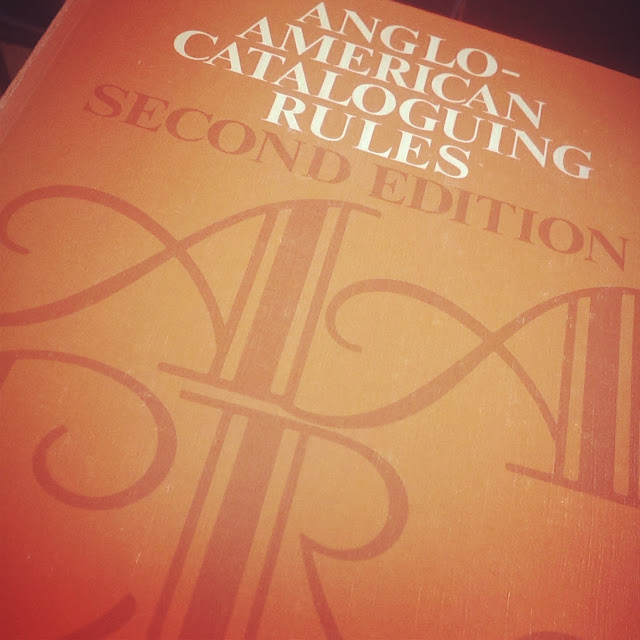 Anglo-American Cataloguing Rules Book