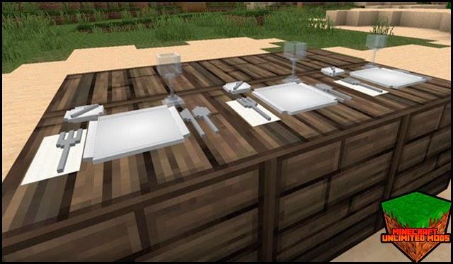 DecoCraft Mod mesa comedor