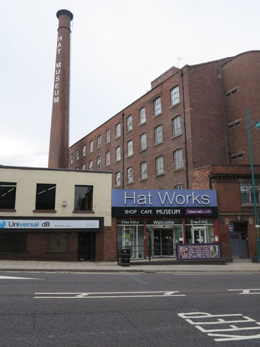 Hat Works Museum, A6 Stockport