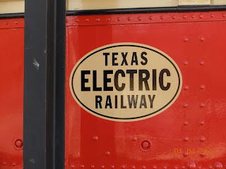 texas electric railway sign