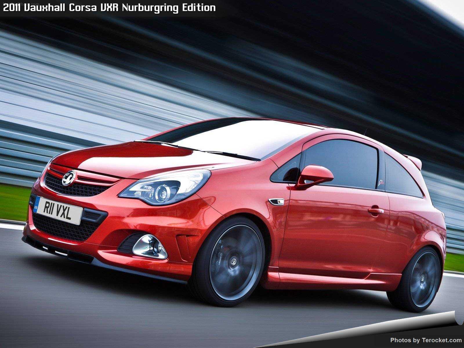 Hình ảnh xe ô tô Vauxhall Corsa VXR Nurburgring Edition 2011 & nội ngoại thất
