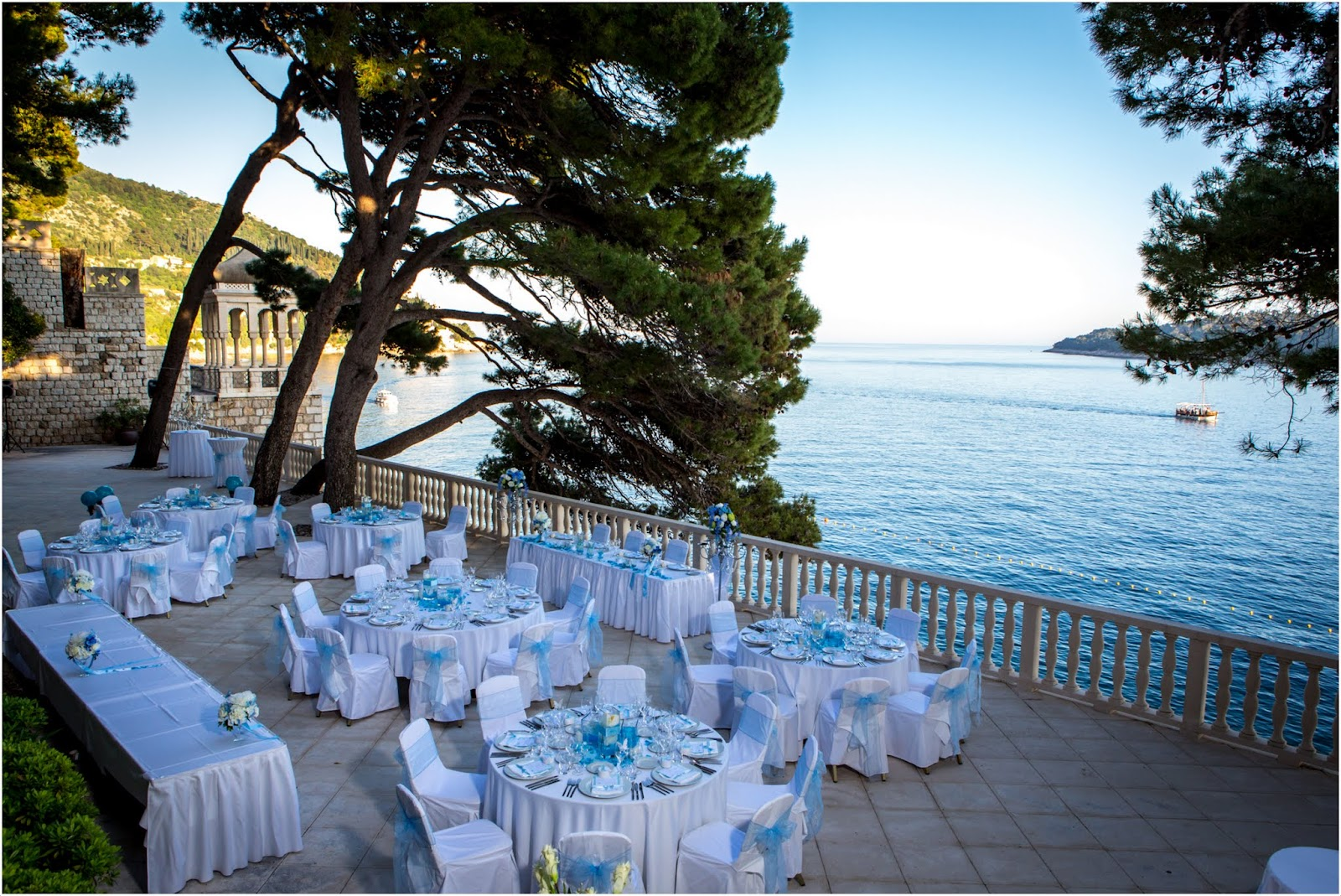 a french wedding at the grand villa argentina dubrovnik