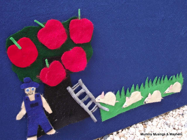Mr Brown's felt story toddler fun