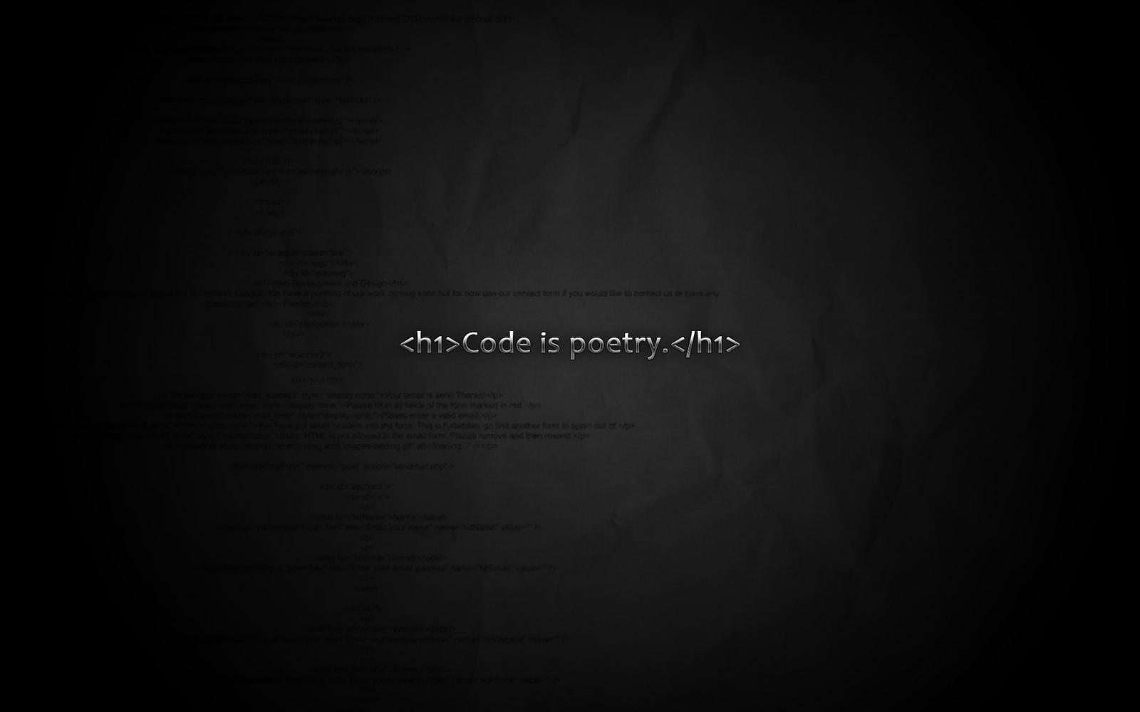 minimalistic programming wallpaper 1366x768 - photo #41
