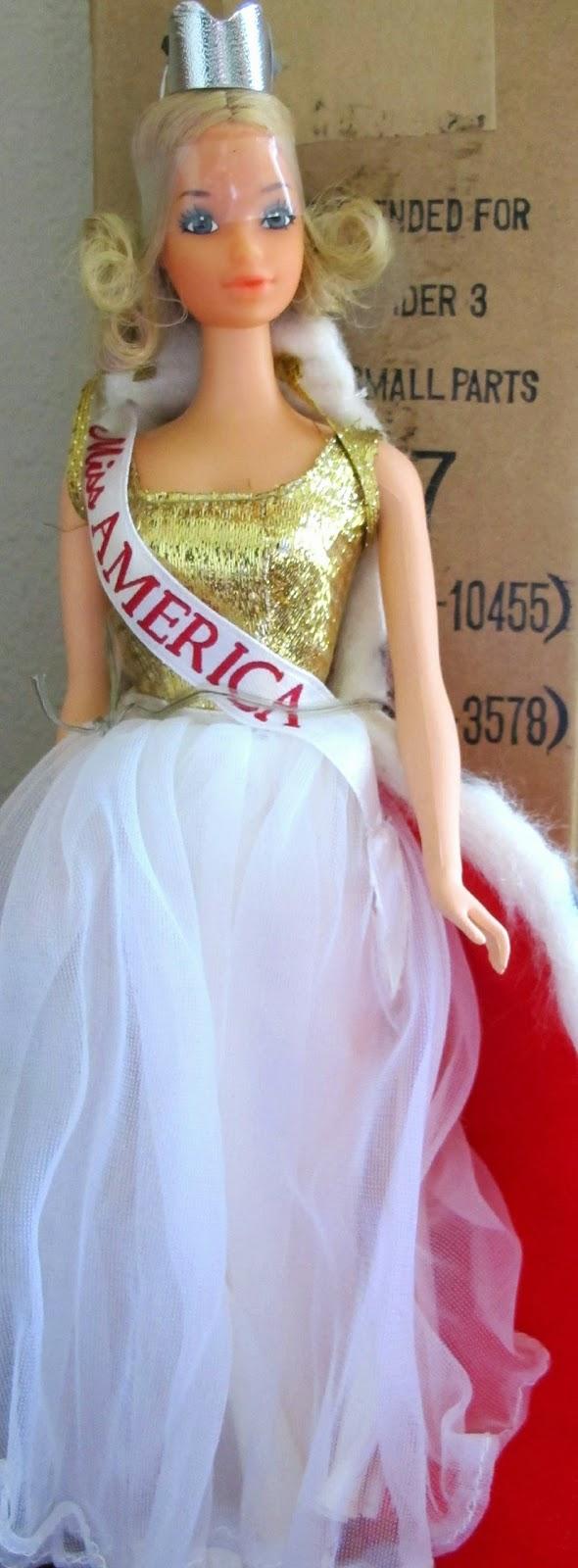 8 sombrerera americana barbie vintage