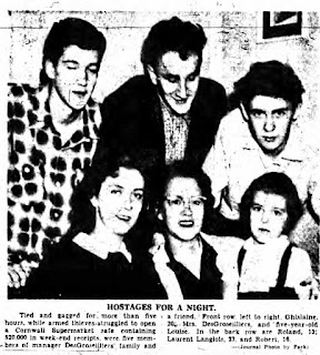 Desgroseilliers family hostages in 1955