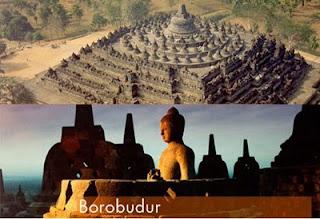 Candi Borobudur Dan Piramida Di Bangun Oleh Alien ?