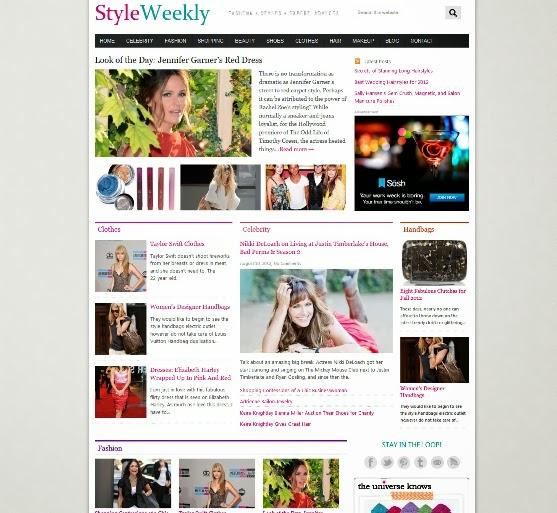 StyleWeekly Magazine Theme