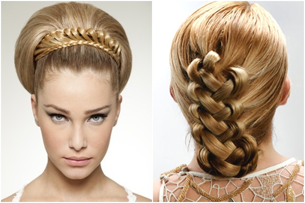 Back Gallery For Country Wedding Braided Hairstyles