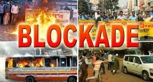 Blokade Damai yaitu