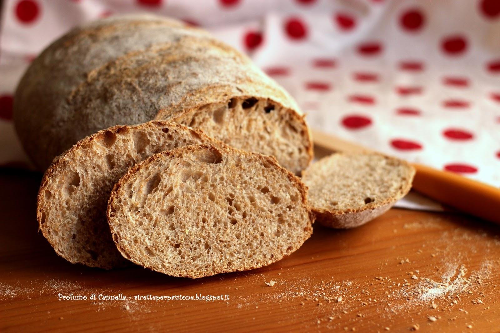 pane semi integrale - si fa presto a dire pane!