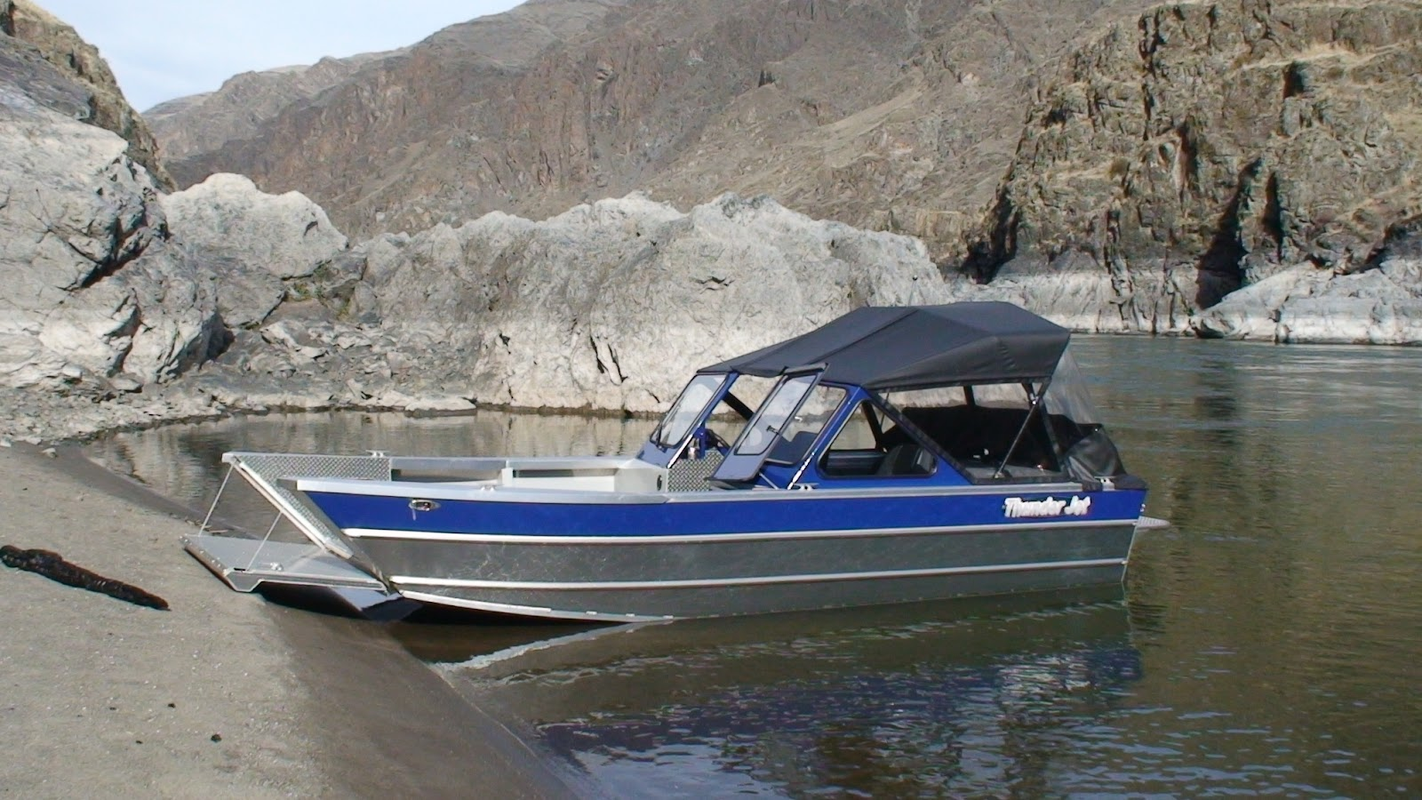 Thunderjet boats april 2012 for Jet fishing boats for sale