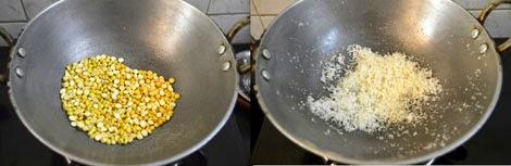 preparation of sweet somas stuffing