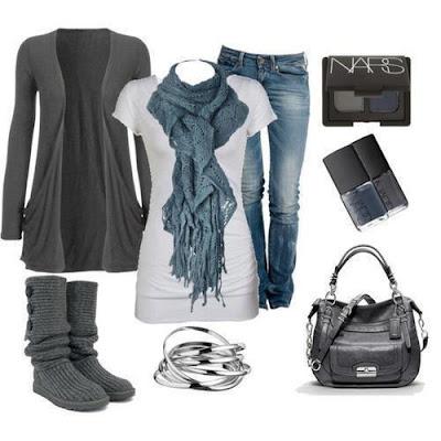 ropa conjuntos y outfits de invierno 2 como vestir