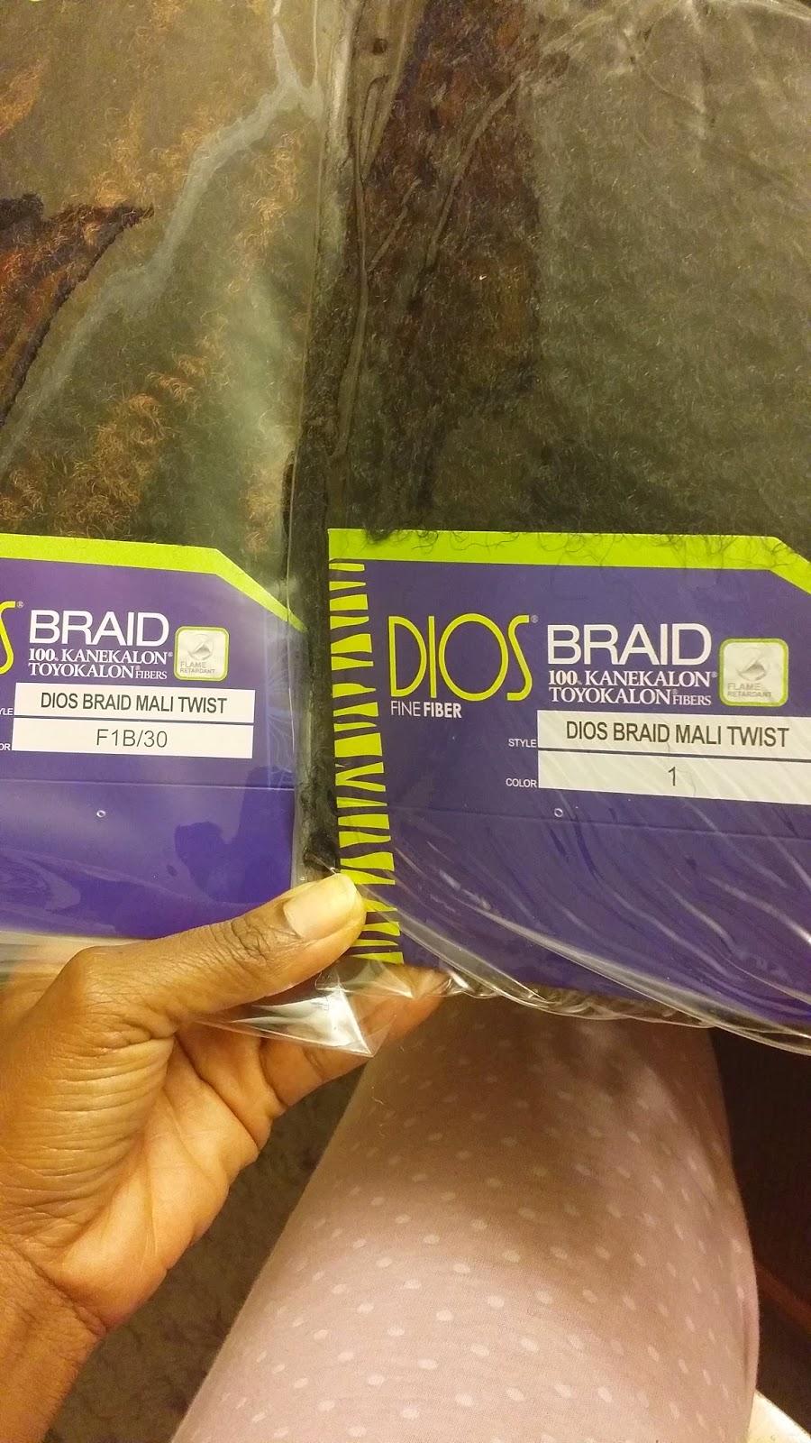 Dios Fine fiber Mali Twist Braid
