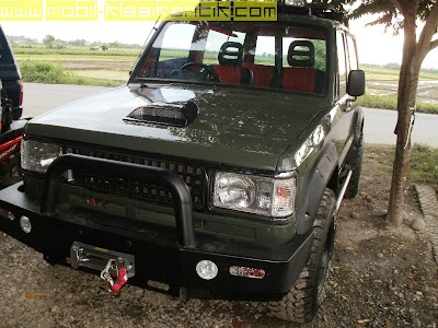 GAMBAR CHEVROLET TROOPER 1986 MODIFIKASI OFF ROAD