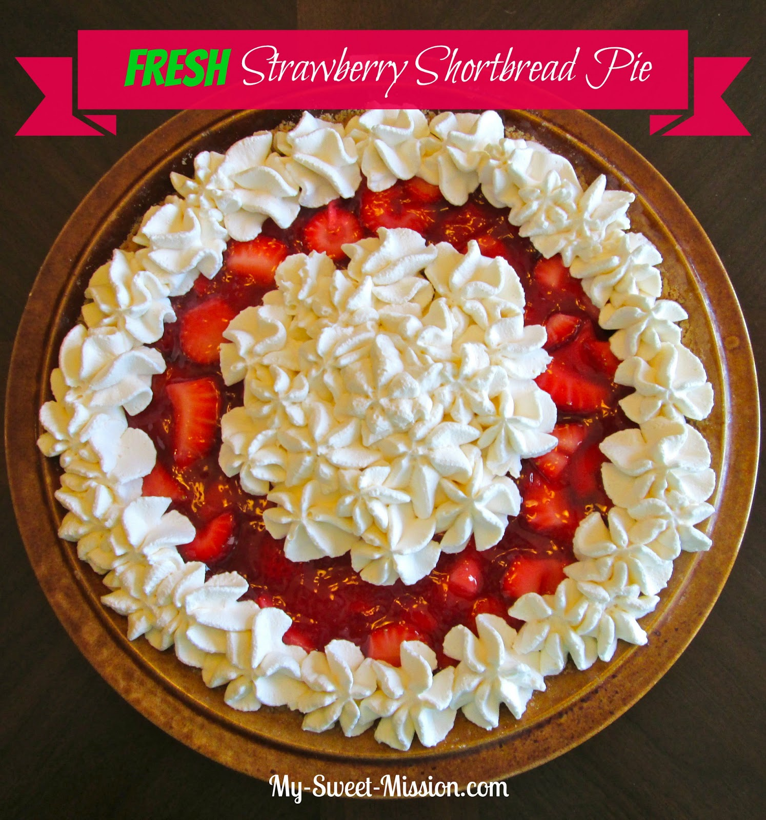 Fresh Strawberry Pie With Whipped Cream Recipes — Dishmaps