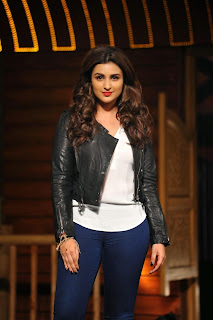 Parineeti Chopra in Tight Jeans at Nakhriley Song Launch Kill DIl at YRF Studios Mumbai