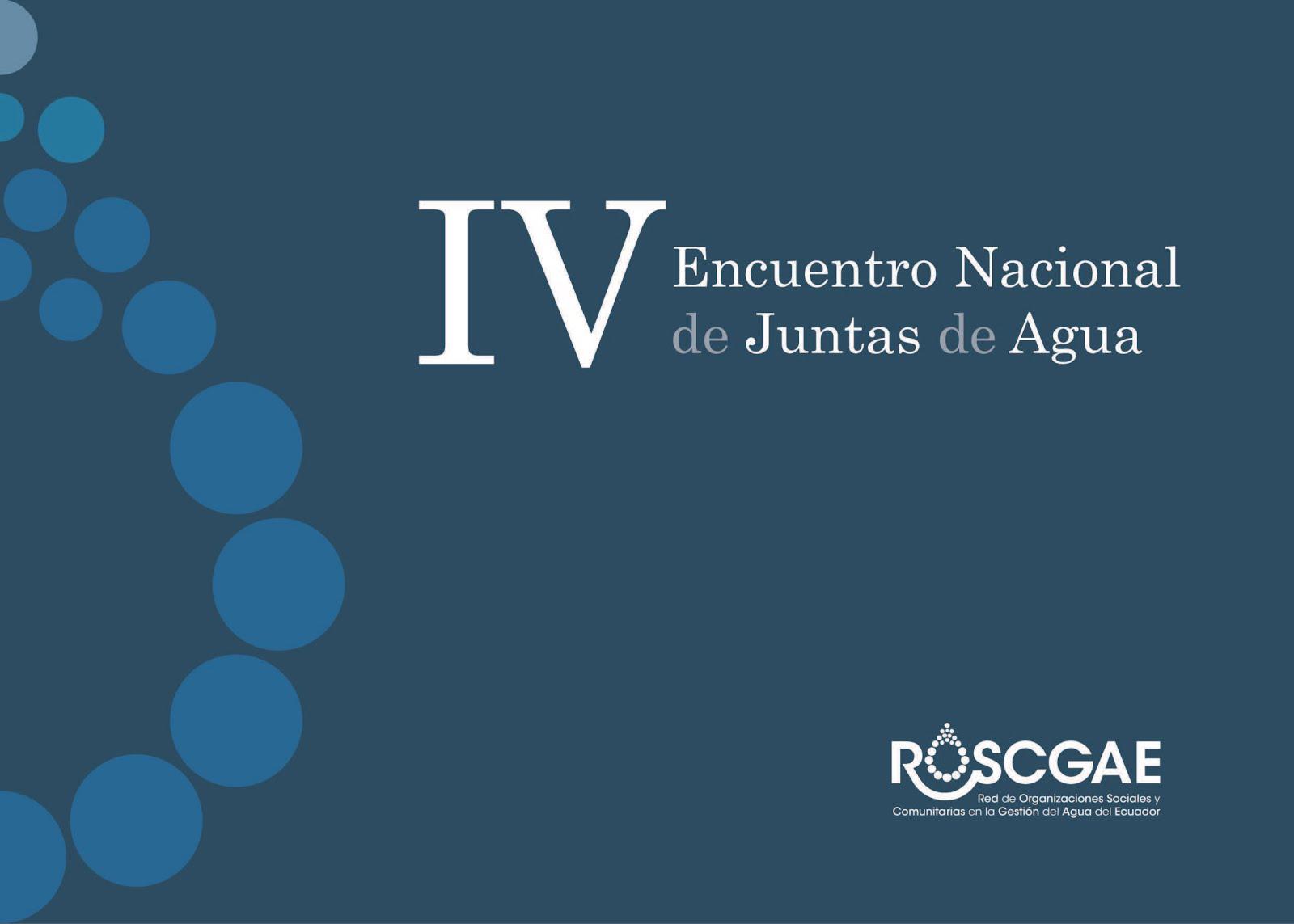IV Encuentro Nacional GCA
