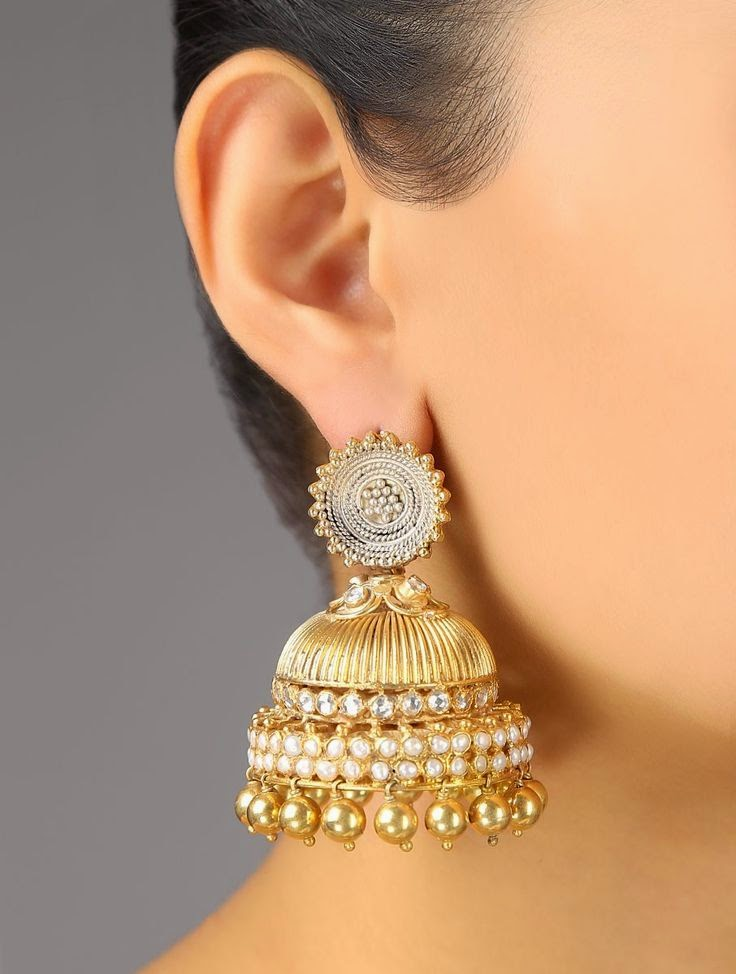 bridal jhumka collection 2015 ~ Just Bridal: justbridal.blogspot.com/2014/10/bridal-jhumka-collection-2015.html