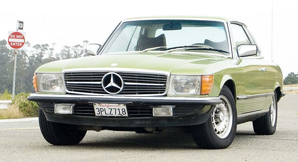 just a car geek 1978 mercedes benz 280 slc. Black Bedroom Furniture Sets. Home Design Ideas