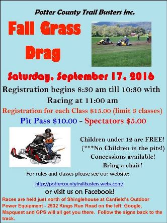 9-17 Fall Grass Drag