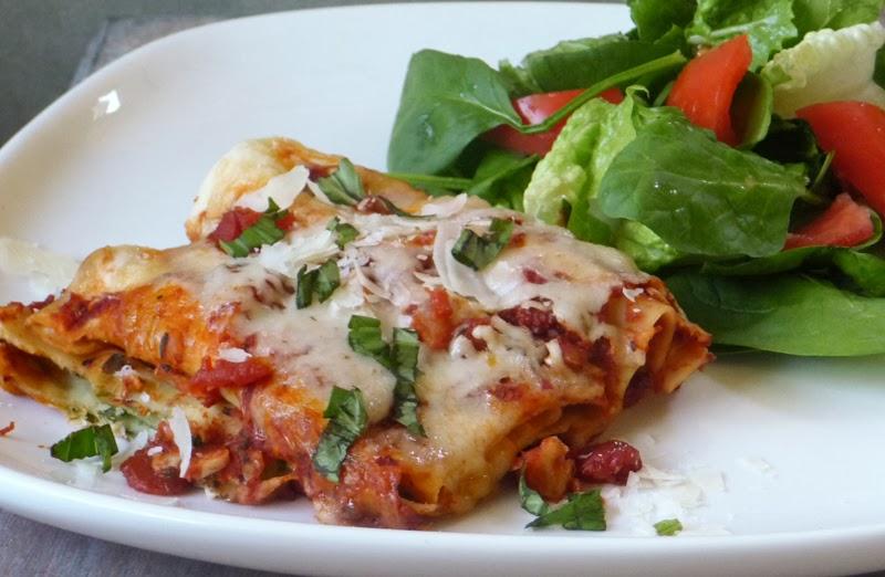 Easy Cheesy Manicotti   by Life Tastes Good