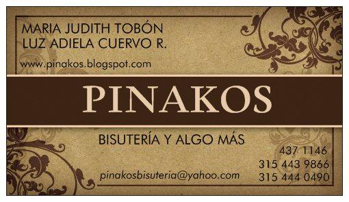 PINAKOS BISUTERIA Y ALGO MAS