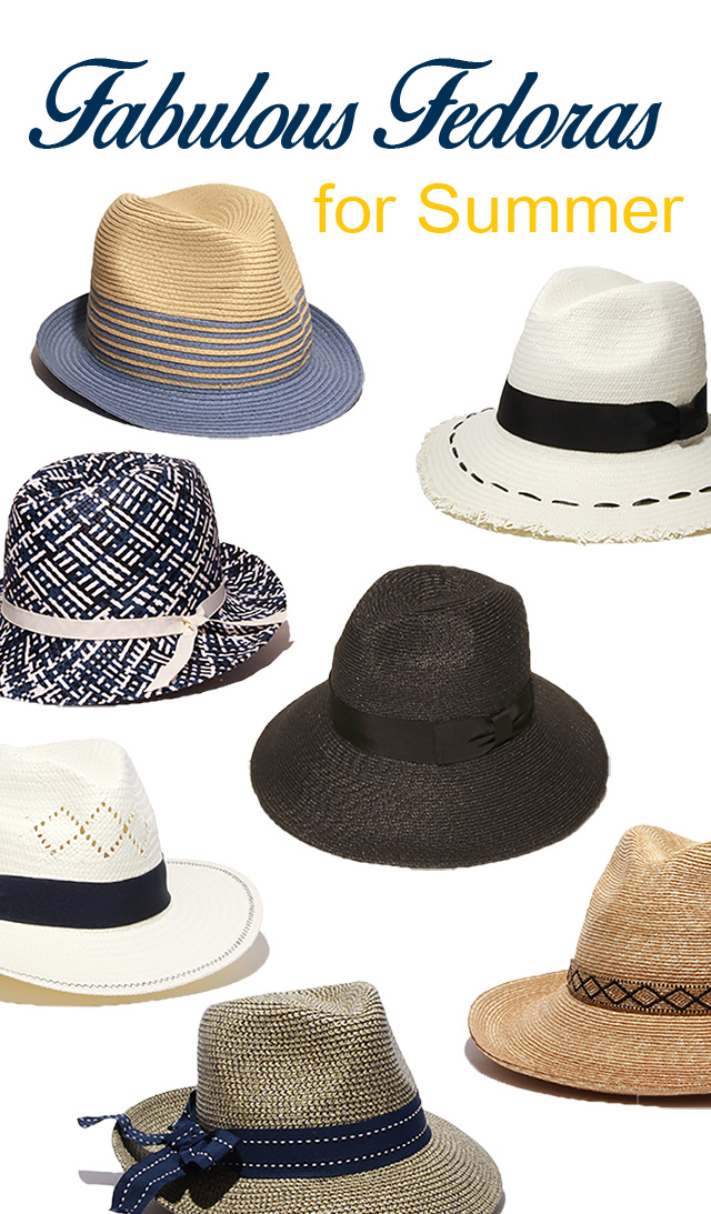 Fabulous Fedoras for Summer