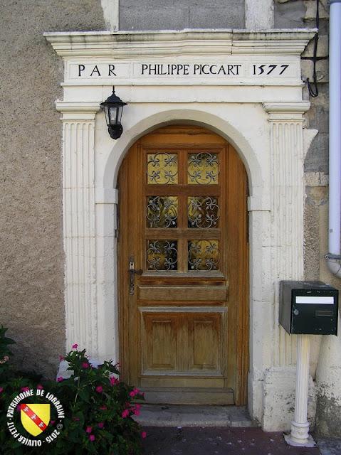 GONDREVILLE (54) - Village - Maison Piccart 1577