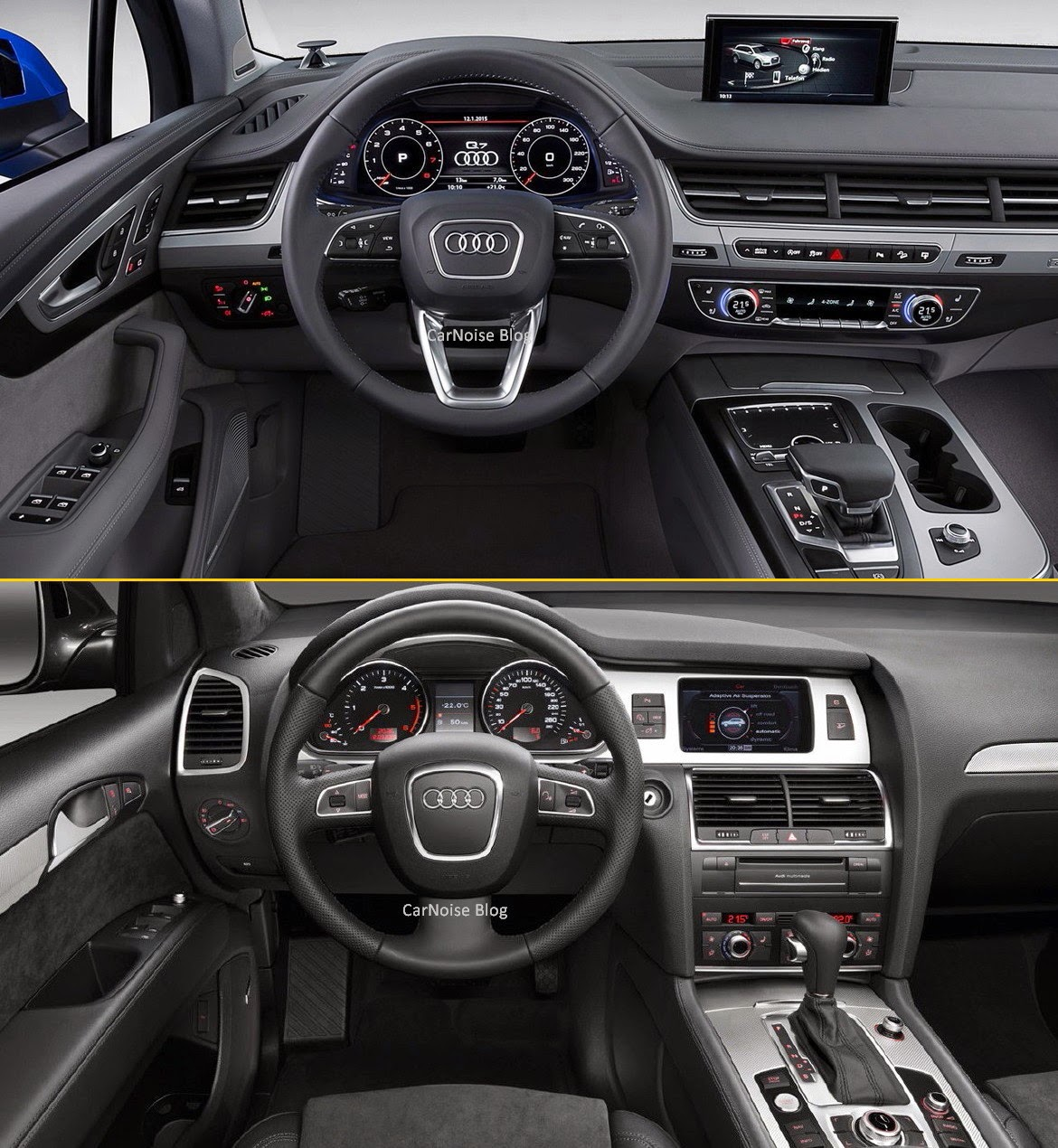 2012 Infiniti Qx Interior: Comparison: Audi Q7 New Vs Old - How Different