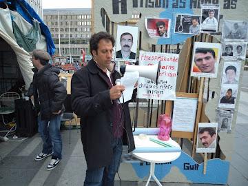 فراخوان شهاب مهدی نژاد در خصوص نابودی رژیم دیکتاتوری جمهوری اسلامی استکهلم2012