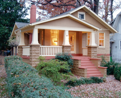 Girl from texas bungalow love for Cottage style houses for sale
