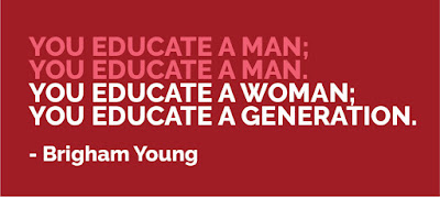 Quote on women education