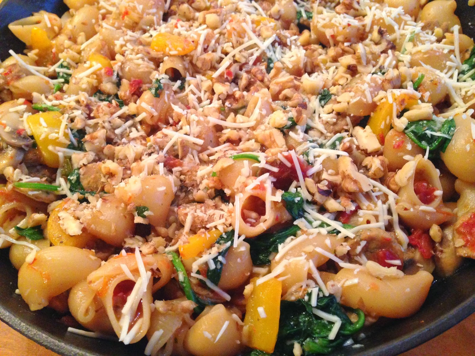 Skillet Pasta with Sausage and Vegetables